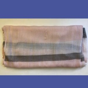 Accessories - Pink/Gray/White Infinity Scarf